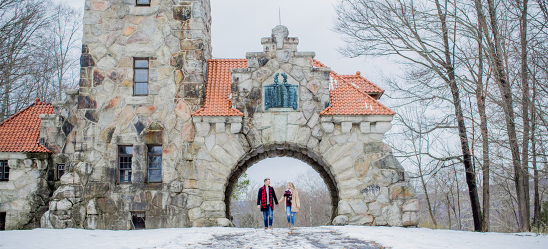 Hudson Valley Winter Engagement Session