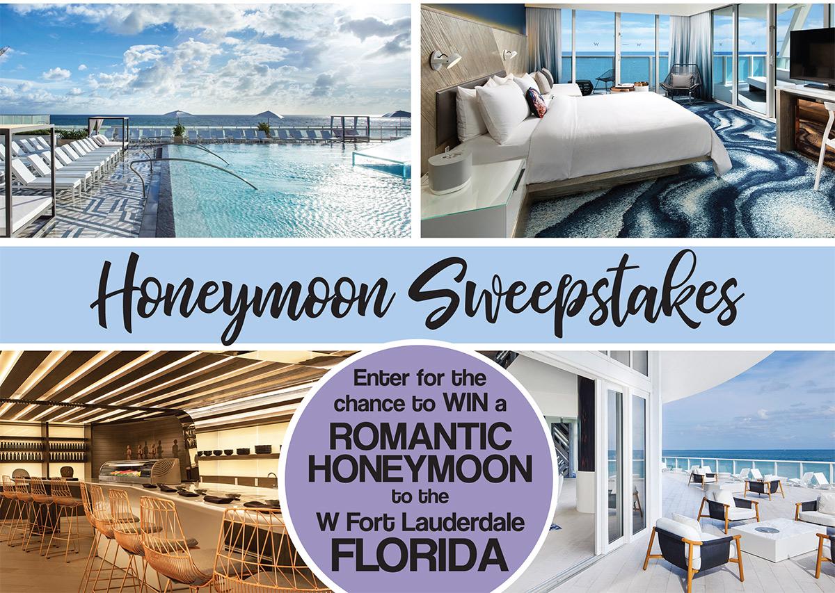 Ft Lauderdale Honeymoon Sweepstakes