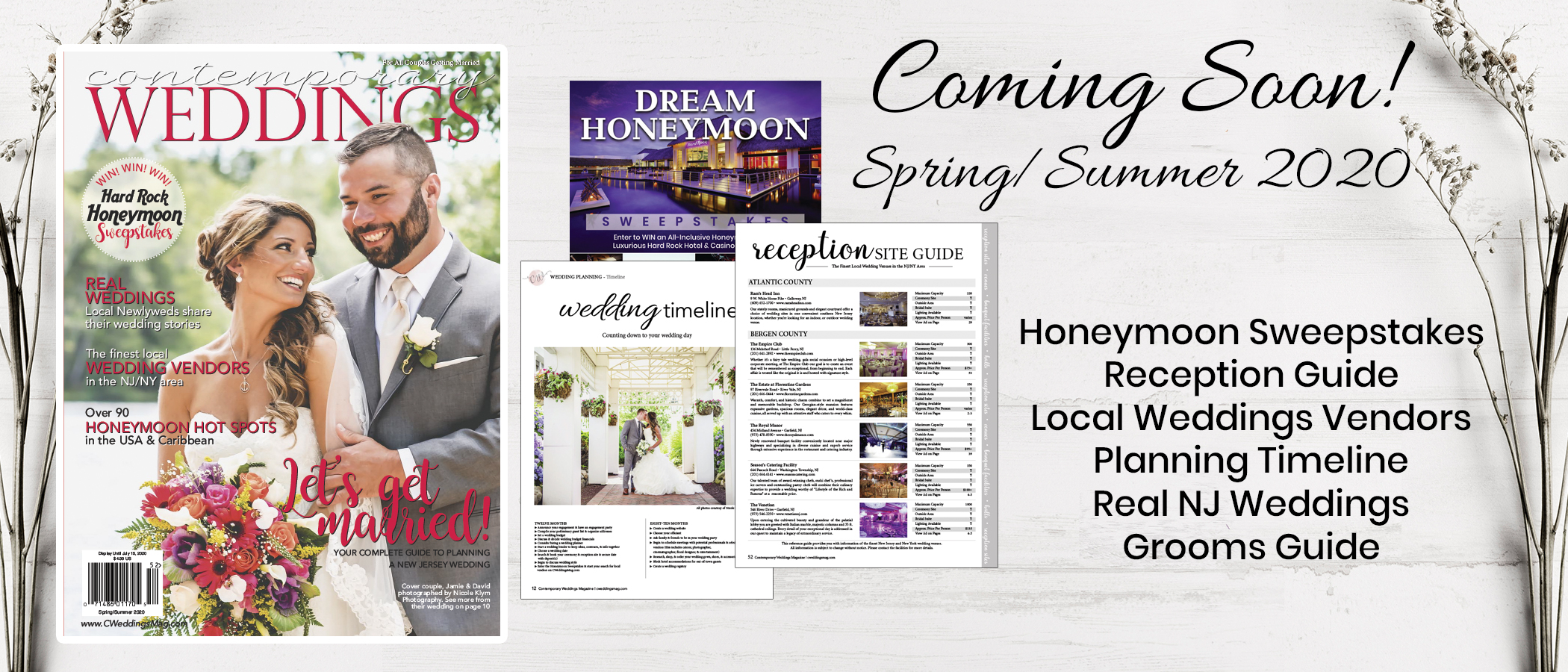 Contemporary Weddings Magazine Spring Summer 2020