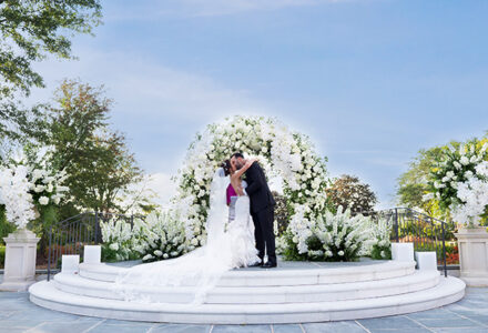Bride and Groom at Park Chateau