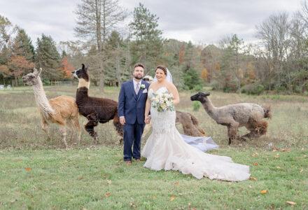 A Rustic Wedding at WoodsEdge Farm by Monika de Myer