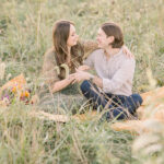 Whimsical Wooded Engagement Session
