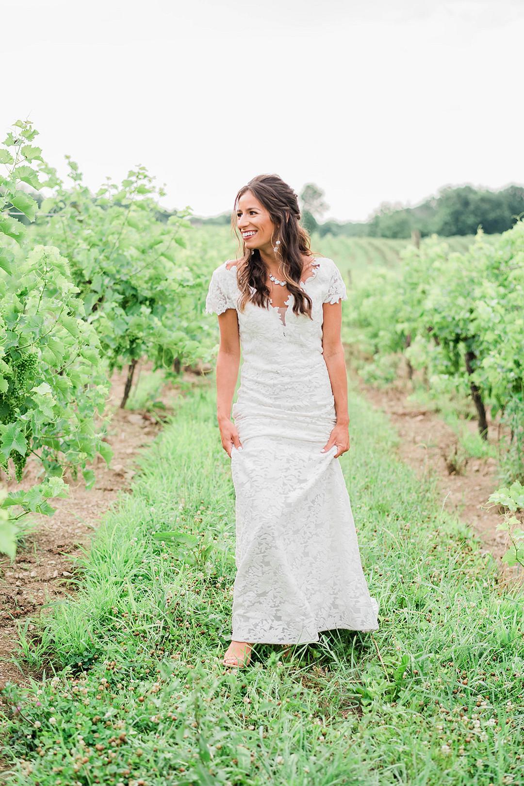 Magnanini Winery Boho Elopement Inspiration