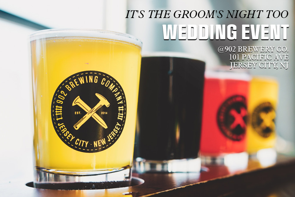 Grooms Wedding Event at 902 Brewing Co