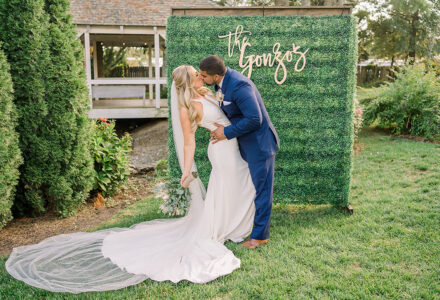 An Elevated Tented Wedding at The Abbie Holmes Estates by Elizebeth Unruh Studio
