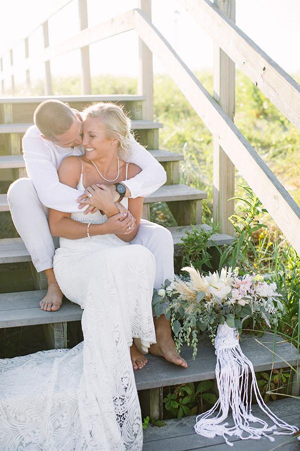 NJ Sunrise Beach Micro Wedding