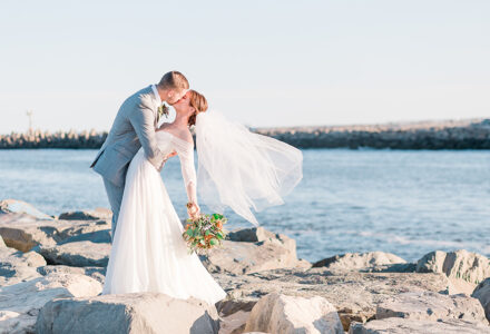 A Micro Backyard Wedding in Point Pleasant by Fox Photography