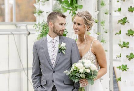 A Greenhouse Fall Wedding by Heyn Photography