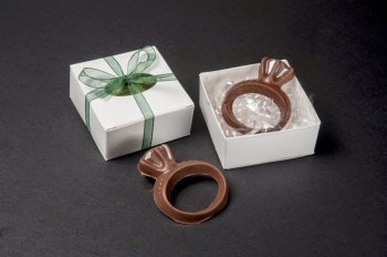 Suzis Sweet Shoppe Chocolate Ring Favors