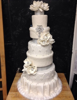 Sweet Sweet Sues Layered Wedding Cake