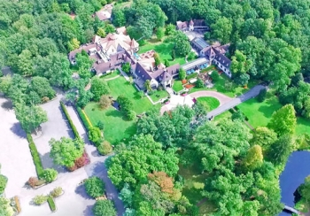Pleasantdale Chateau Aerial View
