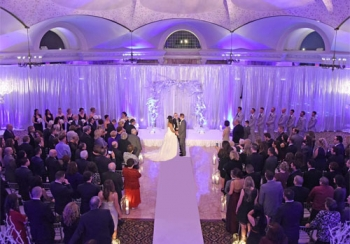 Pleasantdale Chateau Indoor Ceremony