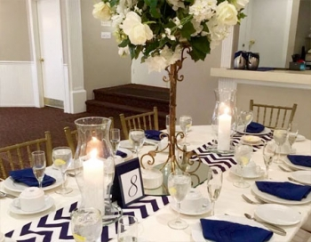 Spring Lake Manor Tablescape
