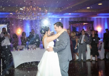 Sterling Ballroom at The Doubletree Snowy First Dance