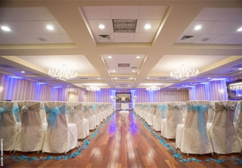 Sterling Ballroom at The Doubletree Indoor Ceremony