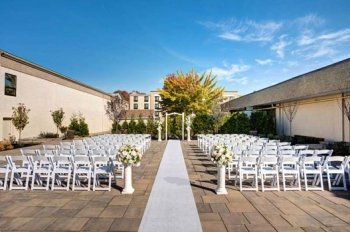Windsor Ballroom at The Holiday Inn Outdoor Ceremony