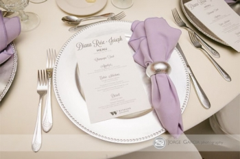 Windsor Ballroom at The Holiday Inn Place Setting