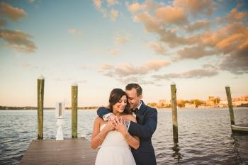 Nikki & Chip Photography waterside wedding