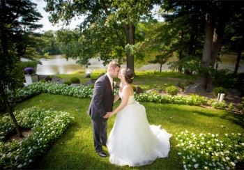 The Estate at Farrington Lake Outdoor Wedding