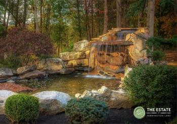 The Estate at Farrington Lake Waterfall