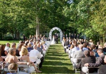 Ram\'s Head Inn Outdoor Ceremony