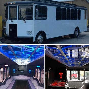 Ambassador Limousine of NJ Trolley