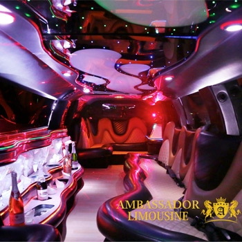 Ambassador Limousine of NJ Interior