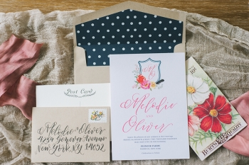Lace and Belle invitation by NKB Photography