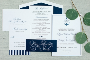 Lace and Belle invitation suite Jaye Kogut Photography