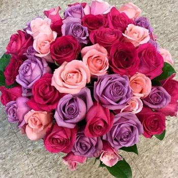 Rose of Sharon Bridal Bouquet of Roses