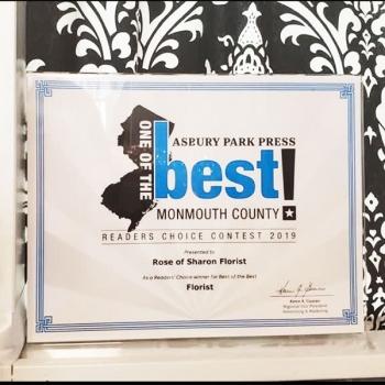 Rose of Sharon Florist Asbury Park Best of the Best