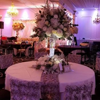 Rose of Sharon Florist NJ Wedding Reception Centerpiece