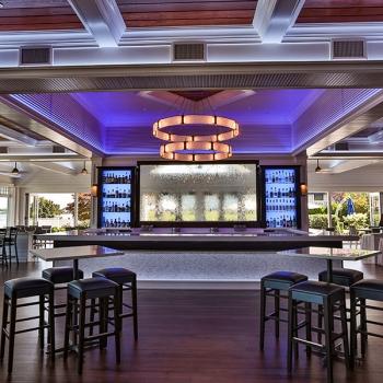Crystal Point Yacht Club NJ Wedding Cocktail Room