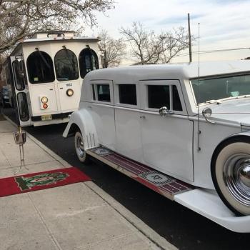 Danaro Limousine NJ Wedding Trolley