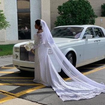 Danaro Limousine NJ Wedding Bride